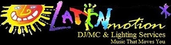 Latin Motion DJ/MC & Lighting Services, Logo